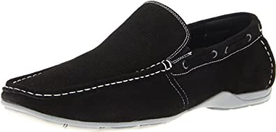 Steve Madden Men's Labelled Slip-On,Black,7 M US