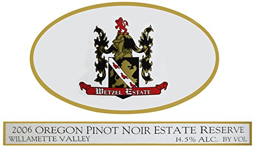 2006 Wetzel Estate Pinot Noir Estate Reserve 750 Ml