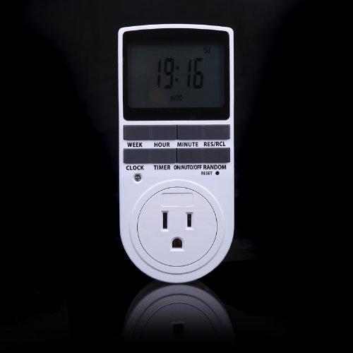 Kkmoon Digital Lcd Power Programmable Timer Switch Summer Random Function Us Plug