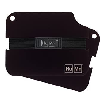 HuMn Mens Wallet 2 Black-One Size