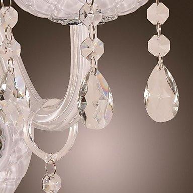 cristal murale avec ampoule bougie