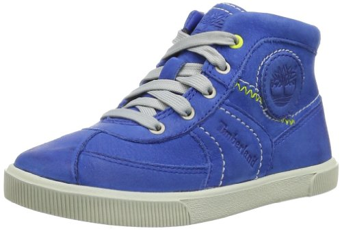 Timberland Unisex - Child EASTHAM LACECHK RYL/ BLUE Hi-Top Slippers Blue Blau (Blue) Size: 30