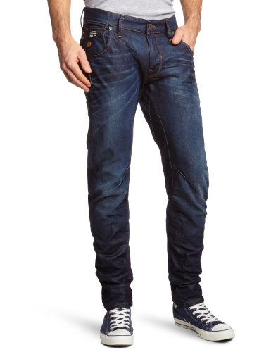 G-Star Raw - Mens Arc 3D Slim Fit Jeans in Dark Aged, Size: 29W x 30L, Color: Dark Aged