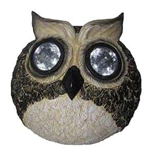 Smart Solar 3586Wrm1 Garden Pal Owl Decorative Light, 6-Inch