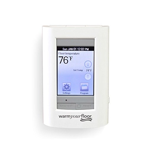 Compareu003eu003e Sun Touch SunStat View Screen Programmable Floor Heat Thermostat Model 500750 120 240V