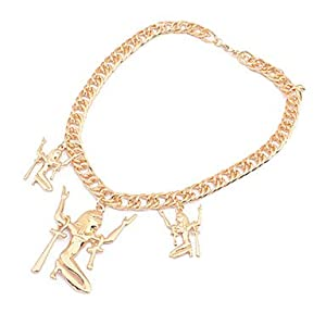 Amazon.com: European Style Punk Dancing Girl Choker Necklace: Jewelry