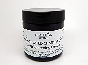 Charcoal Tooth Whitening Powder