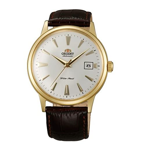 [オリエント]ORIENT 腕時計 自動巻 クラシックオートマチック 海外モデル 国内メーカー保証付きBambino(バンビーノ) イエローゴールド SER24003W0