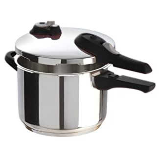 T-fal P2510737 Stainless Steel 6.3-Quart Pressure Cooker