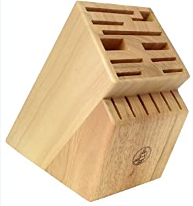 Messermeister 16 Slot Wood Knife Block