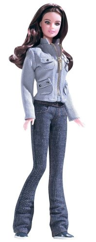 mattel r  collectible	barbie twilight edward