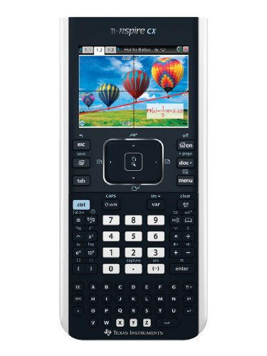 Texas Instruments TI-Nspire CX Graphing Calculator, Frustration Free Packaging (Texas Instruments Inspire Cas compare prices)
