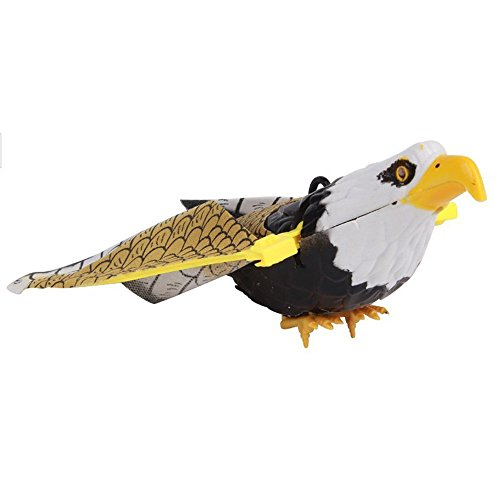 Flying Bird Toy : Fding electronic flying eagle sling hovering hawk birds