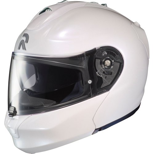 HJC Metallic Men's RPHA-MAX Sports Bike Motorcycle Helmet – Pearl White / Large