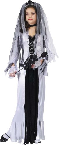 Skeleton Bride Kids Costume