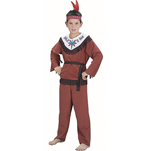 Kid's Indian Boy Costume (Size:Medium 7-10)