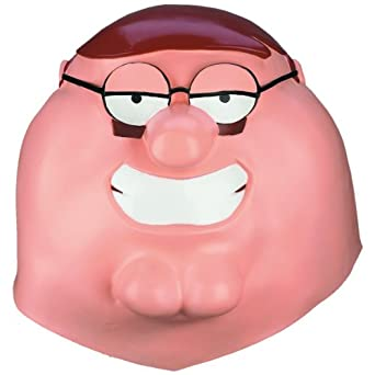 Disguise Men's Family Guy Peter Griffin Adult Vinyl Mask
