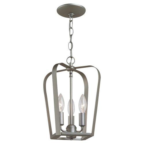 Sea Gull Lighting 54940-753 3 Light Windgate Hall Foyer Light