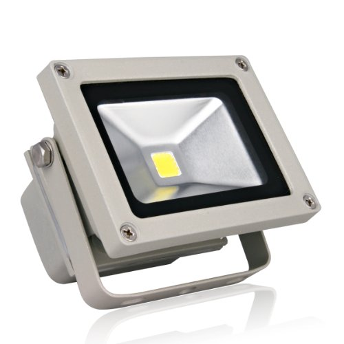 Lighting Ever® 11W Super Bright Outdoor Led Flood Light, Equal To 100W Halogen Bulb, Warm White