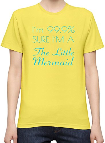I'm 99% Sure I'm The Little Mermaid Funny Slogan T-Shirt per Donne XX-Large