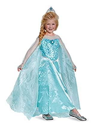 Child Elsa Costume Prestige Frozen Costume 83189