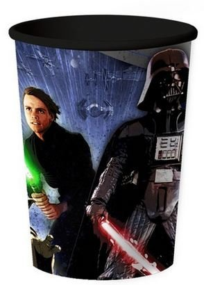 Star Wars Plastic Party 16 oz. Souvenir Cups ~ 2 Pack
