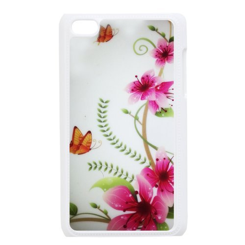 Generic Cell Phone Cases Cover For Apple Ipod Touch 4 Case Fashionable Art Designed With Beautiful Butterfly - K Personalized Shell front-1032970