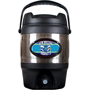NBA New Orleans Hornets 3 Gallon Stainless Steel Jug by Great American Products