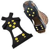 Neewer® Over Shoe Anti-slip Shoe Boot Tread Studded Grips Snow Shoes Crampons Walking Walker