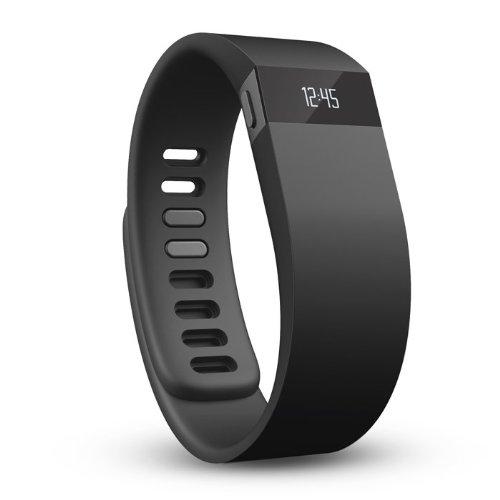 ワイヤレス アクティビティ+スリープバンド(Lサイズ) Fitbit Force社 Black【並行輸入】