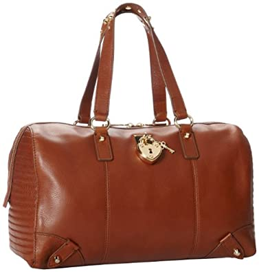 (再降)Juicy Couture Signature Leather Top Handle Bag橘滋真皮手提包折后$119.7