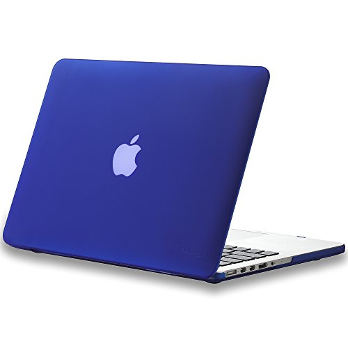 Review Of Kuzy - Retina 13-Inch NAVY BLUE Rubberized Hard Case for MacBook Pro 13.3 with Retina Dis...