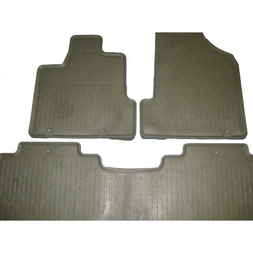 Genuine OEM Honda Ridgeline Rubber Floor Mats Set of 3 Green 2006