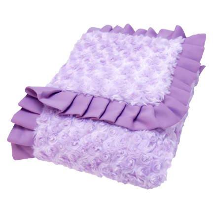 Purple Plush Blanket front-999041