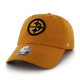 NFL Pittsburgh Steelers Mens Bergen Cap, One Size, Gold by