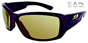 Buy Julbo Zebra Whoops 4003126 PLUM Category 2-4 Performance Sunglasses by Julbo