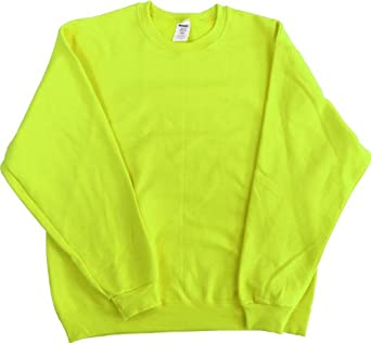 Amazon High Visibility Neon Safety Fleece Pullover #0: 41 joMFflbL SX342