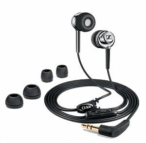 Sennheiser  CX 500 Lightweight In-Ear Stereo Headphone (Chrome)