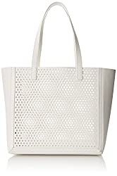 LOEFFLER RANDALL Open Tote Shoulder Bag, White, One Size