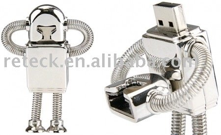 HDE (TM) 4GB Robot Flash Drive
