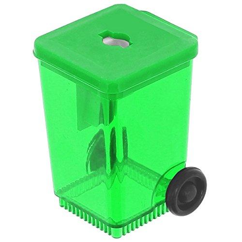 Promobo -Taille Crayon Forme Poubelle Conteneur Avec Réservoir Vert