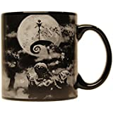 Silver Buffalo NB3334 Disney Nightmare Before Christmas Boogeyman Ceramic Ceramic Mug, 20 oz, Black