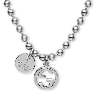 Collana donna - Gucci YBB390992001 Taglia 55 cm