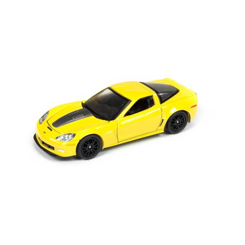 Auto World 1:64 Die Cast Vehicle - Licensed - Callaway Yellow/Black