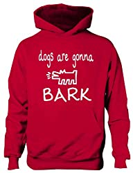 The Janoskians Dogs Gonna Bark Funny Kids Hoodie Birthday Gift Age 5-13