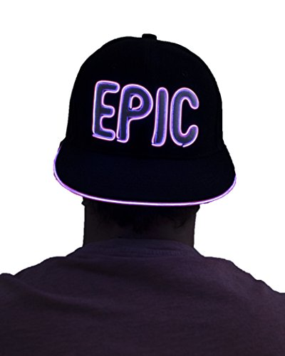 Light Up Hat - Epic (Pink)
