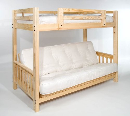 Full Over Futon Bunk Bed 606 front