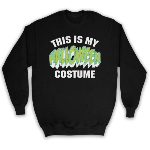 My Icon Men's This Is My Costume Halloween Adults Sweatshirt