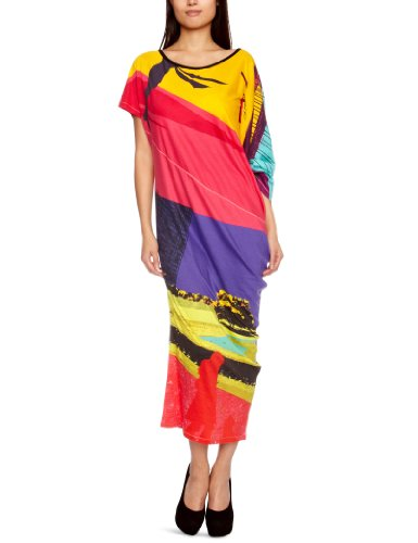 Custo Barcelona Hica Goldengate Strappy Women's Dress Multicoloured Medium