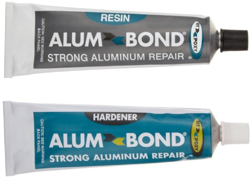 Hy-Poxy H-450 Alumbond 6.5 oz Aluminum Putty Repair Kit (Aluminum Boat Repair Kit compare prices)